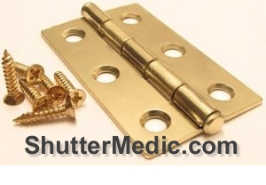 hinges for shutters inter panel