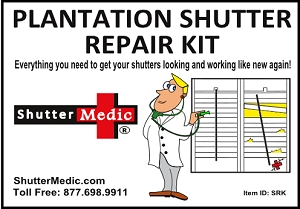 Plantation Shutter Repair Kit